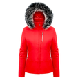 Poivre Blanc Ladies Stretch with Faux Fur Trim Jacket